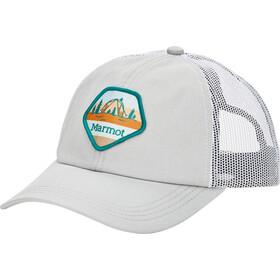Marmot Kira Trucker Hat bright steel/white